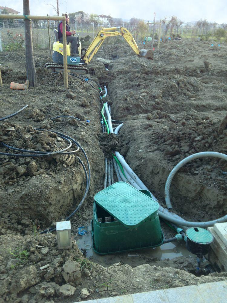 Irrigazione per l'agricoltura - Irrigazioni Calandrini - Gambettola