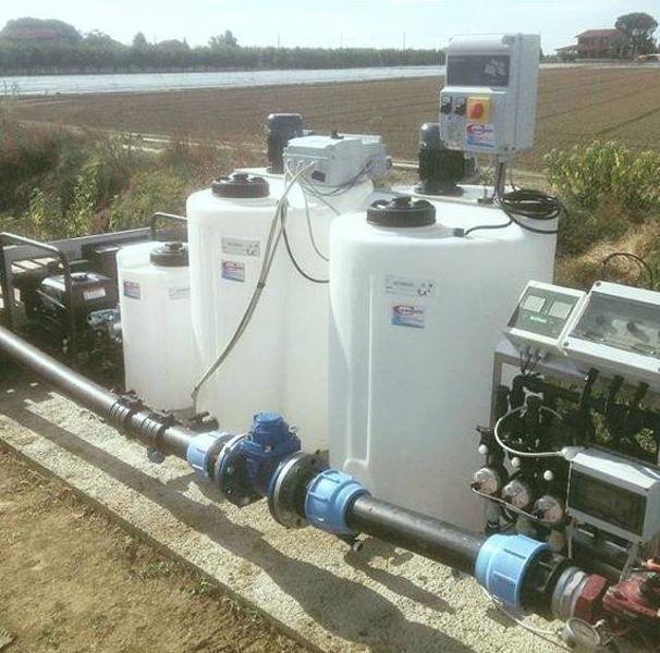 Fertirrigazione con gruppo elettrogeno - Irrigazioni Calandrini - Gambettola